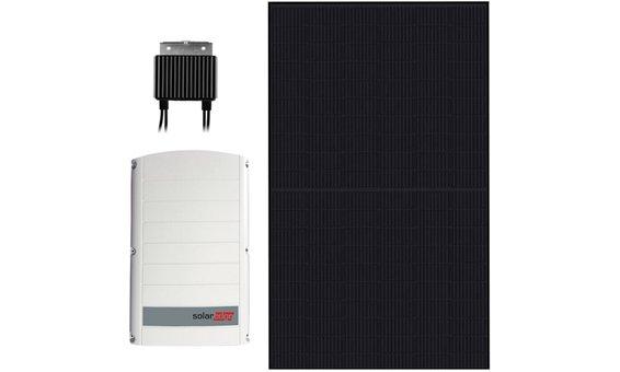 Kit d'azione n. 1: Inverter ibrido + modulo fotovoltaico SolarEdge