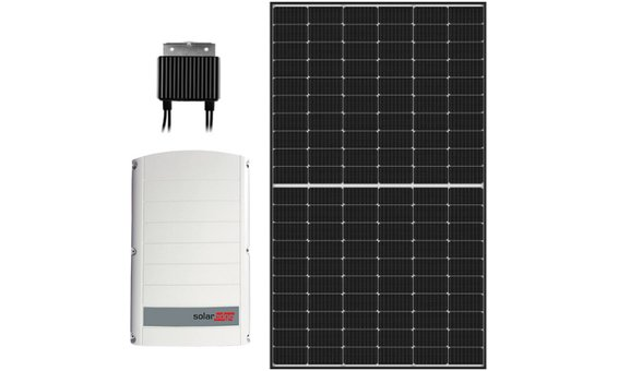 Kit d'action no. 2: onduleur hybride + module PV SolarEdge