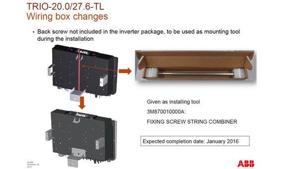 FIMER Werkzeug für TRIO-Anschlussbox