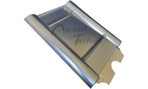 Marzari Metalldachplatte Typ Beton verzinkt
