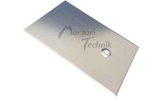Marzari Metalldachplatte Typ Schiefer verzinkt 250 x 380 mm