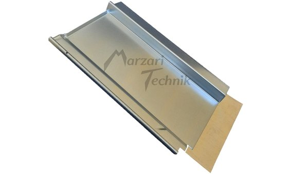 Marzari Metalldachplatte Typ Ton 251 verzinkt