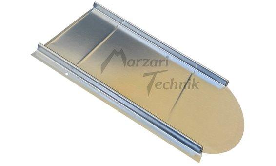 Marzari Metalldachplatte Typ Vario verzinkt