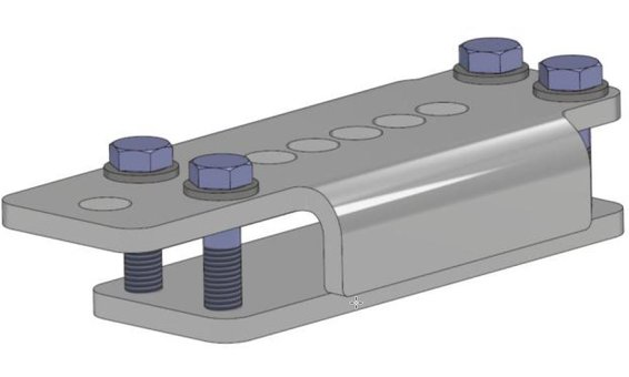 Repapress Set - coppia piastra di fissaggio superiore/inferiore Sunline