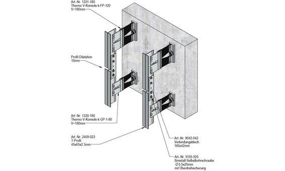Ecolite PV-Fassadensystem ES-NB