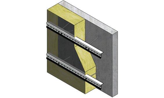 Ecolite PV-Fassadensystem BR-KA-P-BB