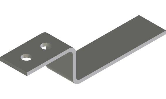 Solrif N Montagebügel oben - Standard, blank