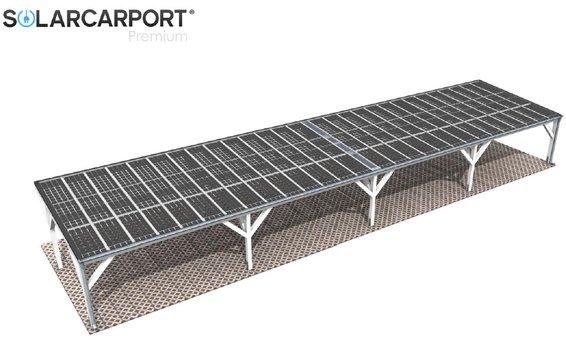 Solarglas Carport V10 | individuelle Anfertigung Breite_____x Tiefe_____ | Module _____ | Leistung ___.___ kWp