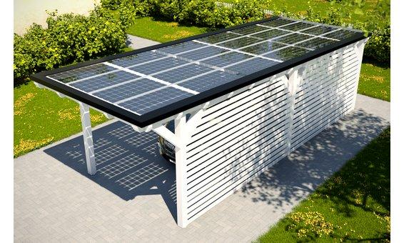 Solarglas Carport V3 | 3.16 x 9.35 m | 24 Module | 3.96 kWp