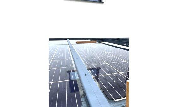 Solarglas Dach Befestigung auf Holz / Alu - alublank