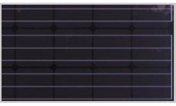 Solarglas Option zu VSG auf Maß: Milchglas Matt Design