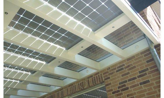 Solarglas Terrasse Erweiterung vom Standard mit VSG 10mm (Klarglas)