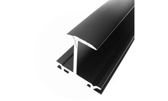 SolarStand Horizontal-Einlegeschiene schwarz 30mm