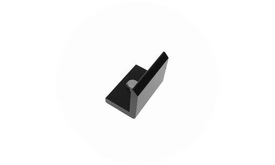 SolarStand Horizontal-Endwinkel schwarz (VPE10)