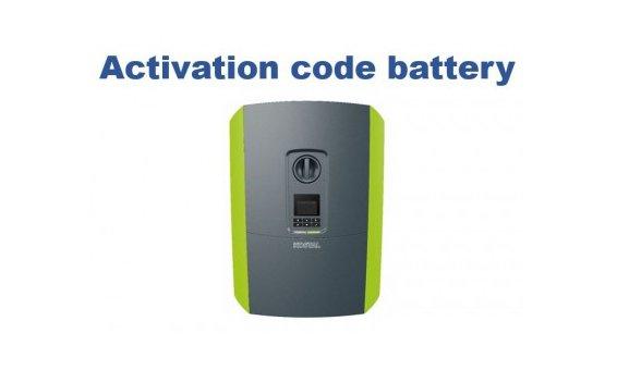 Kostal Aktivierungscode Batterie (Plenticore plus)