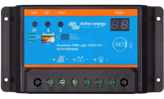 Victron BlueSolar PWM-Light 12/24V-5A