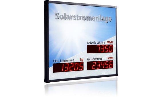 Schneider Grossanzeige PV3-LED-DOT, Aussenbereich