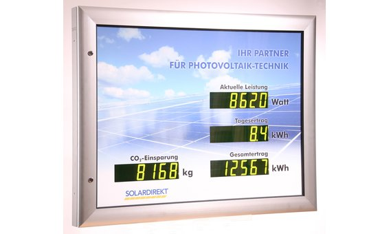 Schneider Schaukasten-Vitrine LCD-60 HL, Aussenbereich