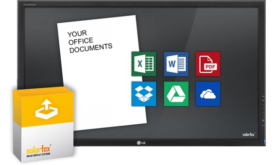 Solarfox Visionneur de documents pour module de diapositives (PDF, MS-Word, MS-Excel)