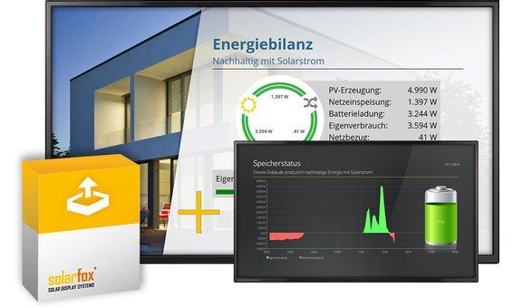 Solarfox Paquet supplémentaire Bilan énergétique / systèmes de stockage