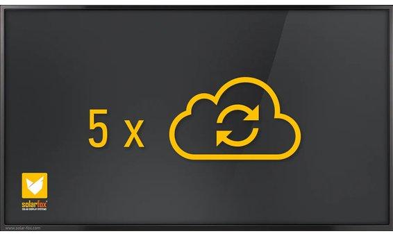 Solarfox Zusatzpaket zusätzl. Datenquellen 5er Paket