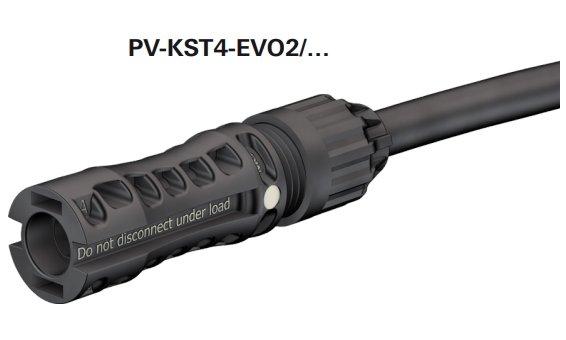 Stäubli MC4-Evo2 PV-KST4-EVO 2/6I-UR