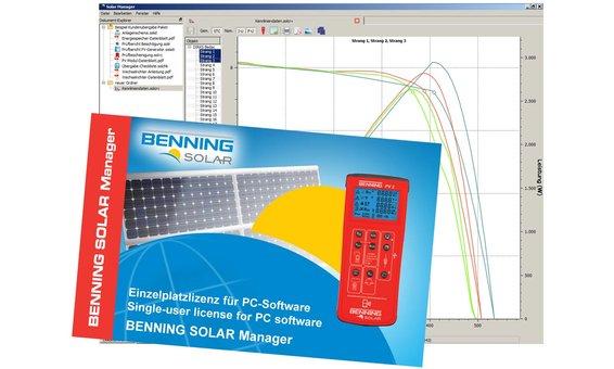 Benning PC-Software BENNING SOLAR Manager