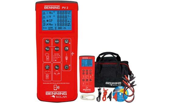 Tester d'installazione Benning PV2