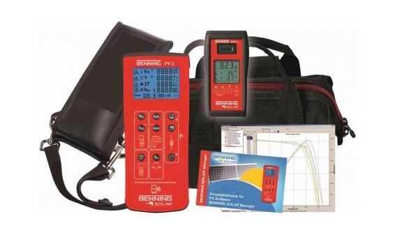 Benning Testeur d'installation PV2 SET (incl. Sun 2 + Benning Solar Manager)