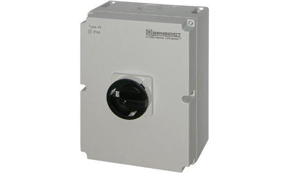 AC-Schalter, LTS 25 PFLH4 A3 + PE+ N