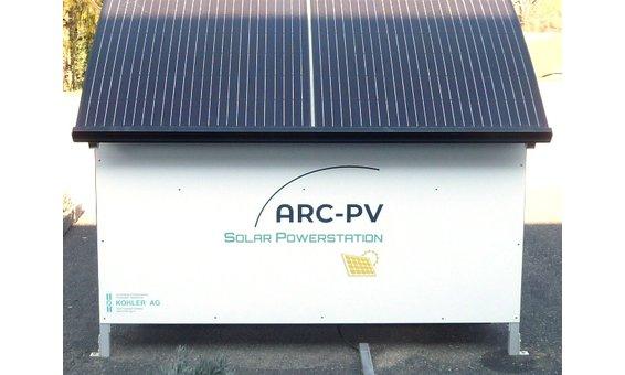 ARC-PV Rückwand weiss