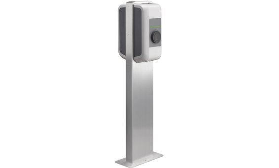 Keba Pedestal for TWO wallboxes - stainless steel
