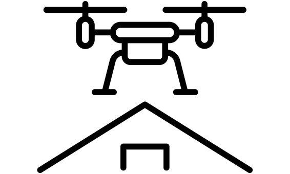 Contrôle de la qualité avec un drone à caméra thermique, -30kWc