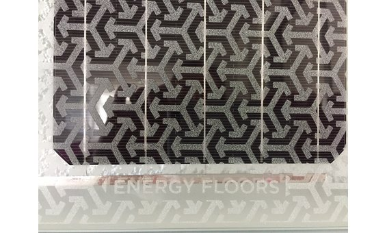 Fassadenmodul quadratisch, Doppelglas, mit Muster bedruckt