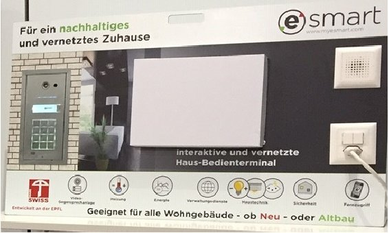eSmart Display mit Gegensprechanlage
